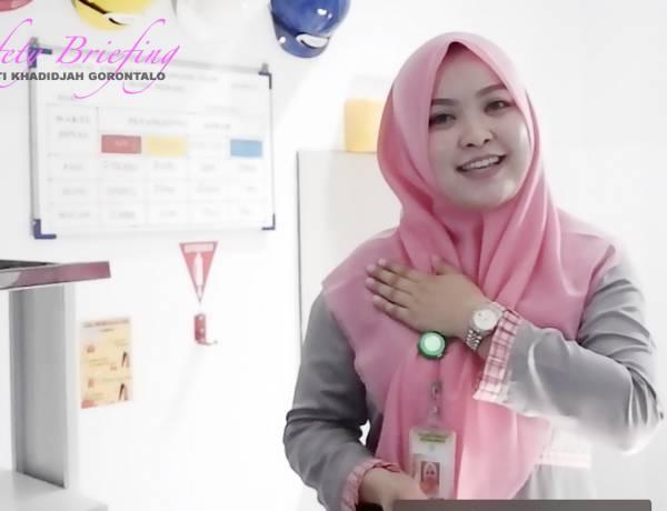 RSIA Sitti Khadidjah Gorontalo - Safety Briefing